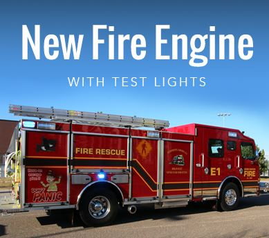 New Fire Engine Test Lights