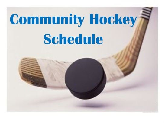 Community Hockey Schedule