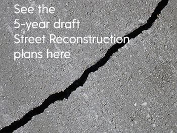 5 year street recon draft plans (PDF)