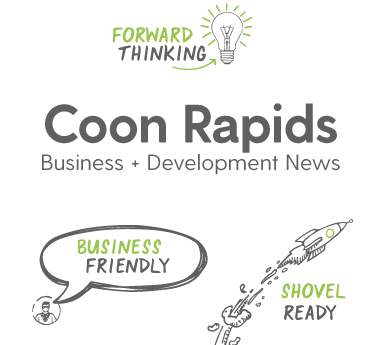 CoonRapidsBusinessDevelopmentNews_White