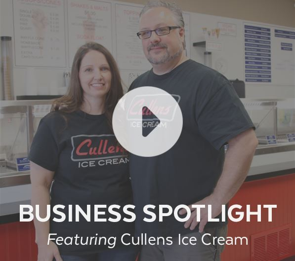 Chad and Lisa Cullen - Business owners of Cullens Ice Cream