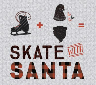 Skate with Santa Graphic