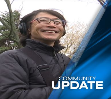 Japanese Film Crew Visits Coon Rapids